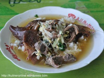 makanan khas klaten soto bebek