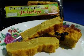 makanan khas probolinggo proll tape